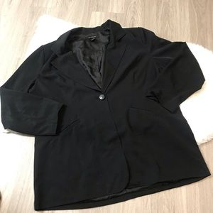 Ashley Stewart Black Blazer Size 20 W